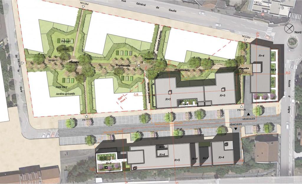 CONCOURS – CONSTRUCTION DU NOUVEAU SIÈGE DE L'OPAC DU RHÔNE – ÎLOT DE LA GARE – BRIGNAIS (69)