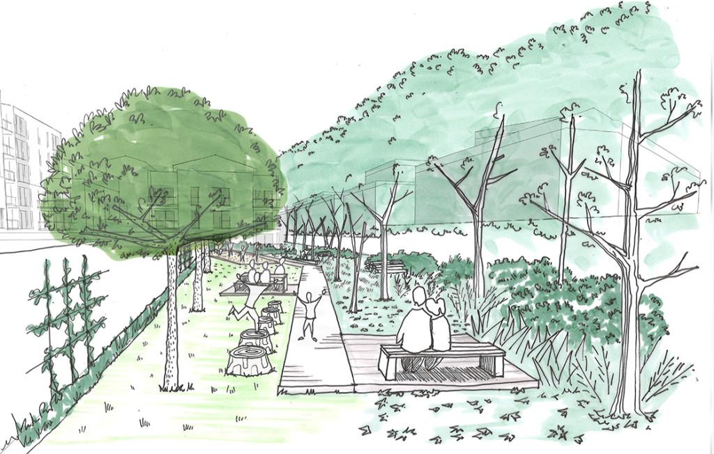 CONSTRUCTION DE LOGEMENTS ET D'UN SQUARE PRIVÉ – VILLEURBANNE (69)